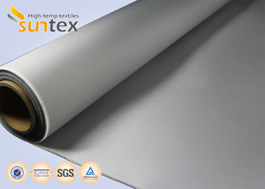 Fabric Air Distribution Ducts PU Coated Fabric For Flexible Connector 460g Welding Blankets Perforable