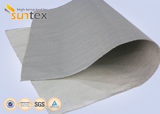 China Heatproof Fabric PU Coated Fabric 0.7mm Glass Fiber Fire Blanket Material Smoke Curtains supplier