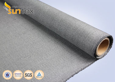 China Industrial Fire Curtain Fiberglass Welding Cloth High Temperature Resistant Fabric Up To 750 C supplier