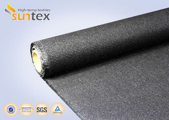 China Flexible Fire Door High Temperature Resistant Fabric For Fire / Smoke Curtain 41OZ 1.6mm supplier
