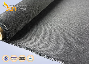 China 30oz Fiberglass Fabric Flame Retardant Cloth Welding Protection Acrylic Coated Fabric Roll supplier