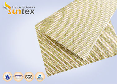 China 18oz Silica 0.6mm Industrial Fire Blanket Roll Safety Cloth For Fire Barrier Thermal Insulation Jacket supplier