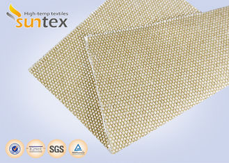 China Chemical Resistant High Temperature Fiberglass Cloth / High Heat Resistant Silica Cloth Abrasion supplier