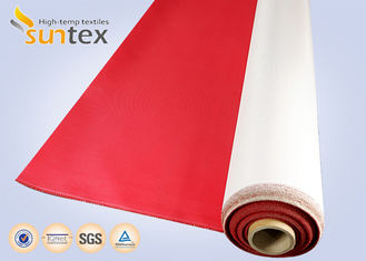 China High Temperature Fire Resistant Fiberglass Fabric Durable Polyurethane Coated supplier