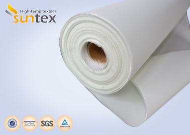 China 2025 Fireproof Chemical Resistant Non Stick Polyurethane Coated Fiberglass Fabric / Cloth supplier