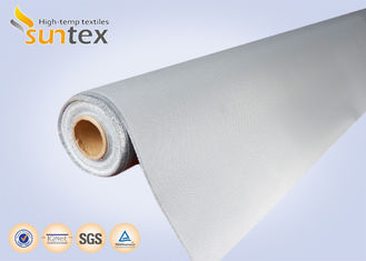 China 0.4mm High Durability Fire Resistant Fiberglass Fabric Soft Polyurethane (PU) Coated supplier