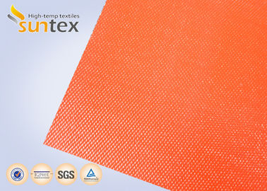 China Suntex High  Silicone Rubber Coated Fiberglass Fabric 2 Sides Coating Heat Resistant Material supplier