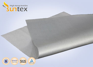 17 Oz. Flexible Silicone Coated Glass Fibre Fabric For Removable Insulation Blankets & Jacket & Cover