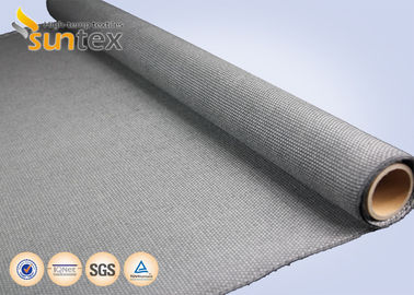 Removable Insulation Mattress Material Non Woven Fiberglass Fabric Calcium Silicate Grey Color