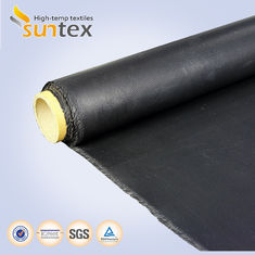 China Industry Textiles Oil / Grase Resistance High Temp Fabric Fiberglass Coated With Neoprene supplier
