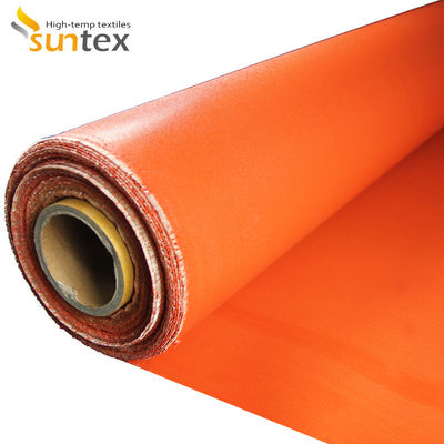 Two Sides Silicone Coated Fiberglass- Welding Blanket Factory