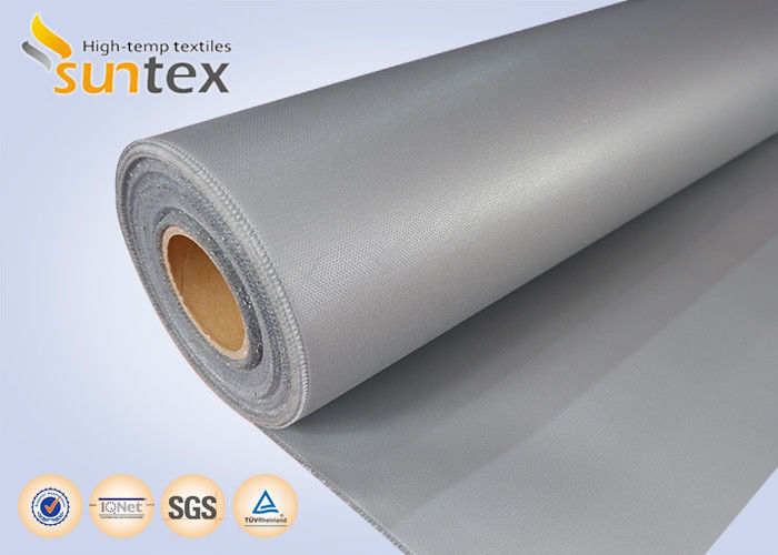 4c1d9b3f2af7 16 OZ Thermal Insulation Cover Silicone Coated Fiberglass Fabric Cloth Grey  No Oil Dropping