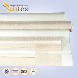 China Smoke Curtain Woven Fiberglass Cloth Heat Insulation Fireproof  2050 G/M2 distributor