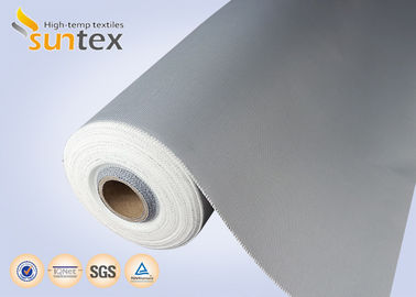 China High Temperature Resistant Fabric Expansion Joint Cloth PU Coated Fiberglass M0 0.41mm distributor