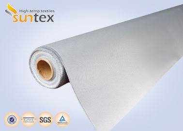 China 0.4mm High Durability Fire Resistant Fiberglass Fabric Soft Polyurethane (PU) Coated distributor