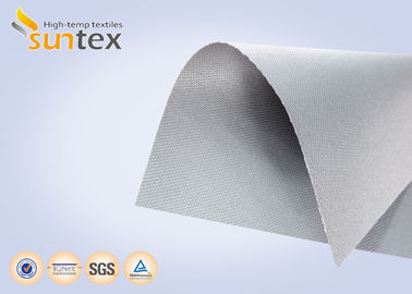 China 0.45 mm Silicone Coated Fiberglass Fabric Fire Cloth Use For Fire Blanket And Welding Blanket factory