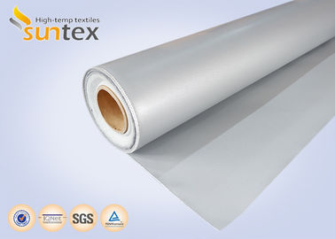 China Both Side Silicone Rubber Fiberglass Fabric Expansion Joint Cloth Water And Heat Resistant factory