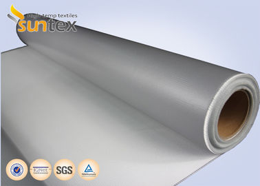 China 510 g Silicone Coated Fiberglass Fabric For Heat Protection Silicone Cover factory