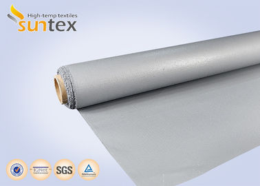 China 0.7 Mm Thickness Fiberglass Welding Cloth Firestop Non Stick With Wire Inside factory