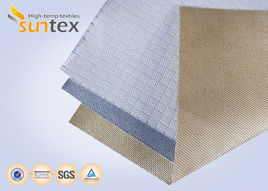 China High Temperature Silica Fiberglass Cloth Fire Barrier Fire Blanket Material factory
