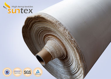 China 0.8mm Fire Resistant Thermal Insulation Fabric For Welding Protection Blanket Roll distributor