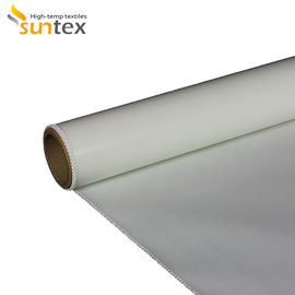 China High Strength Silicone Rubber Coated Fiberglass Fabric Fire Resistant Fiberglass Cloth factory