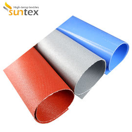 China Good Chemical Resistance Silicone Coated Fiberglass Fabric For Insulation Facings factory