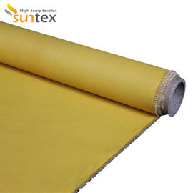China Double Sided Fire Proof Silicone Coated Fiberglass Fabric 100% Fiberglass Material factory