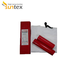 China Home Safety Emergency Fire Protection Fire Blankets Fiberglass Welding Blankets factory