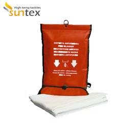 China Fire Extinguishing Blanket Kitchen Household Thickened Fire Blanket Escape Glass Fiber Fire Blanket distributor