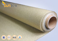 800C Vermiculite Coated High Temperature Fiberglass Cloth Heavy Duty
