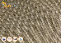 800C Vermiculite Coated High Temperature Fiberglass Cloth