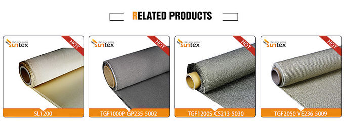 7628 Flame Retardant Woven Fiberglass Cloth 550C Electronic Heat Insulation
