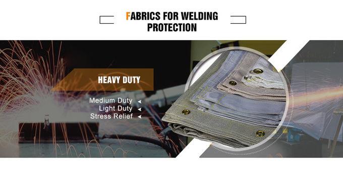 Heat Retardant 800C Wire Inserted Coated Fiberglass Fabric