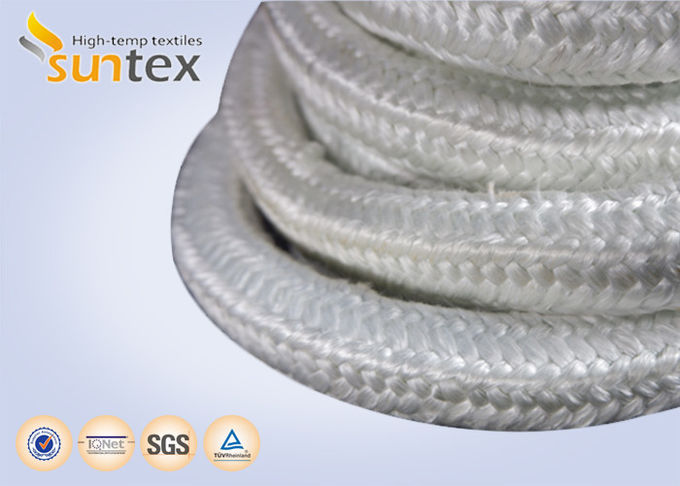 High Temperature Fiberglass Heat Resistant Rope For Insulation Packing Industrial Stoves Door